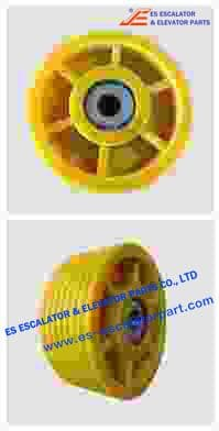 ESThyssenkrupp Rope Pulley Assy 200256518