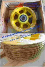 Thyssenkrupp Rope Pulley Assy 200360822