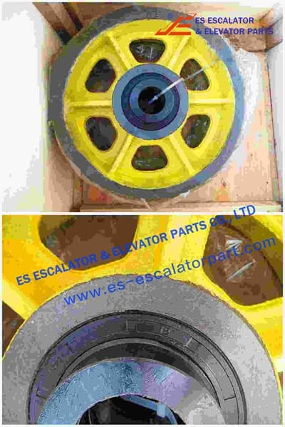 ESThyssenkrupp Rope Pulley Assy 200360808