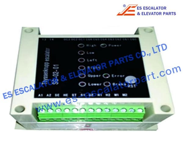 Speed monitor A6/SG-02-01