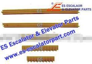 OTIS Escalator Part GO455G4 Step Demarcation NEW
