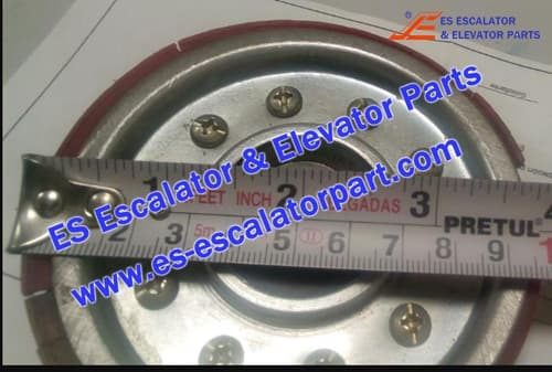 ESKONE Elevator Door hanging wheel