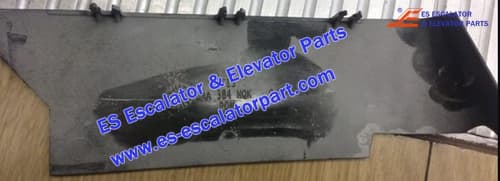 ESOTIS Escalator DAA384NQK2 Entry handrail