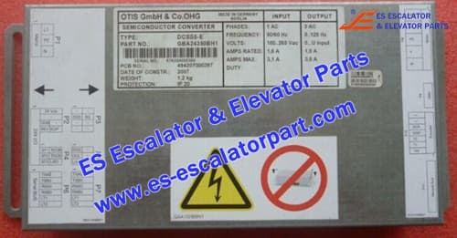 ESOTIS Escalator Parts DCSS5-E Door box