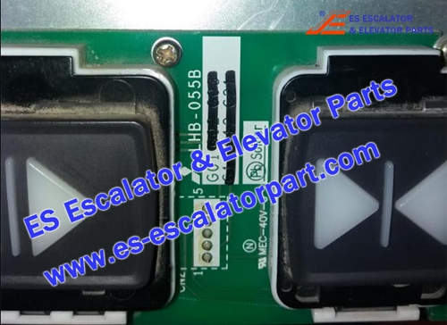 ESMitsubishi Elevator parts LHB-055B Button Board