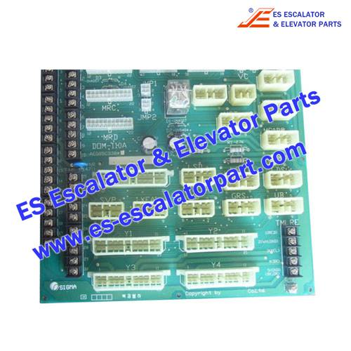 Elevator Parts DOM 110A AEG05C338 Controller Connectors board