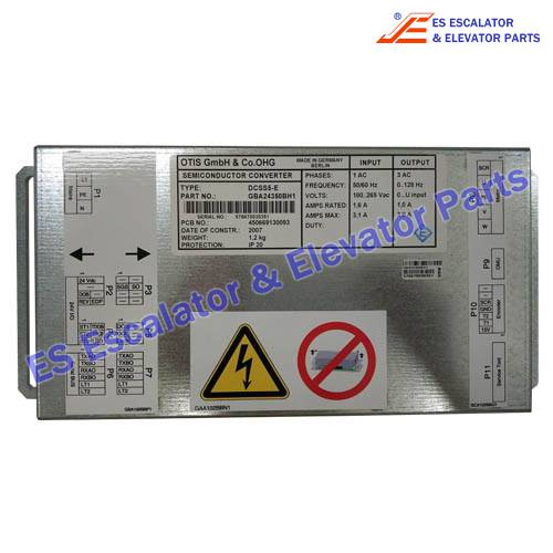 Semiconductor Converter GBA24350BH1 for Otis elevator